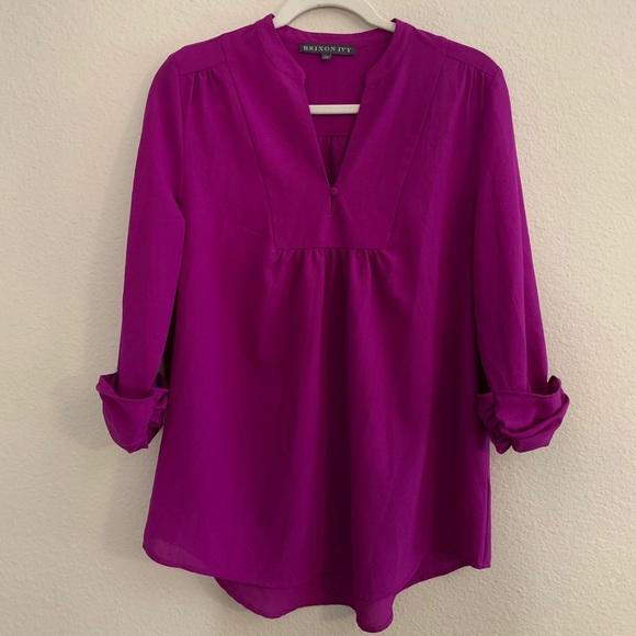 Brixon Ivy Purple Blouse
